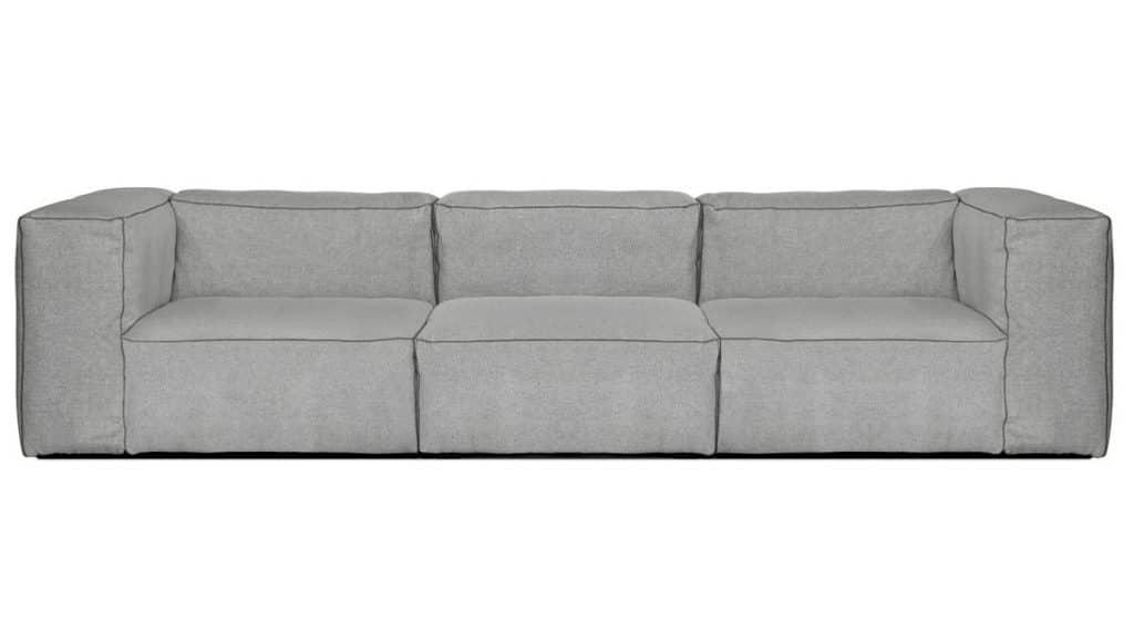 3 personers flyder sofa fra HAY