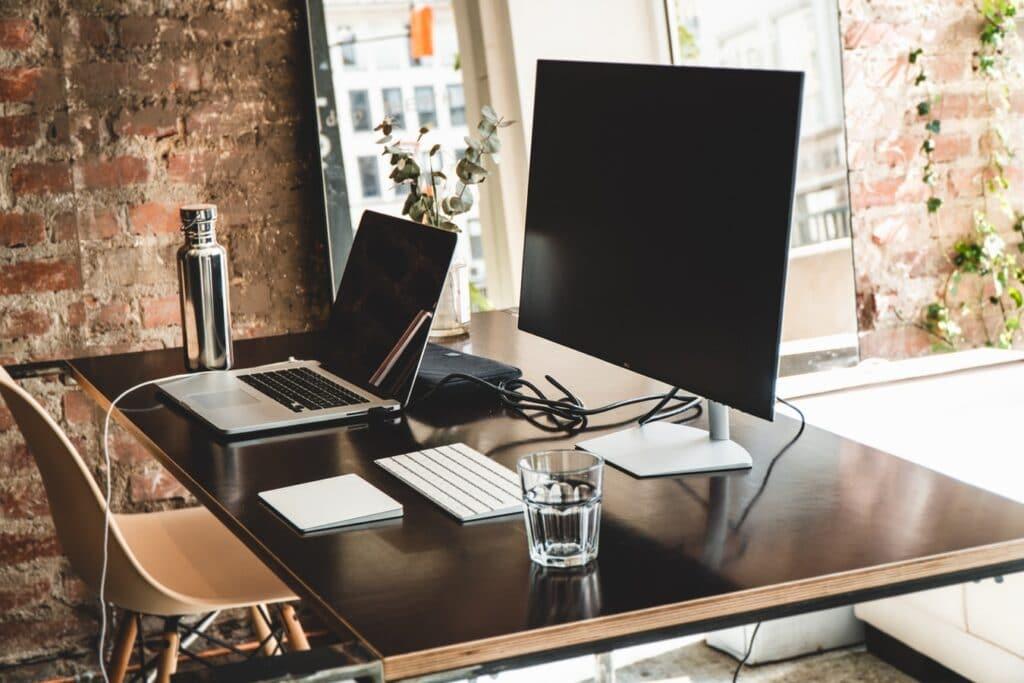 God plads på skrivebordet er vigtigt