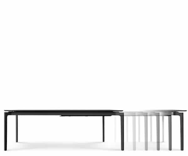 Eva Solo More spisebord - sort laminat - 100x220/320