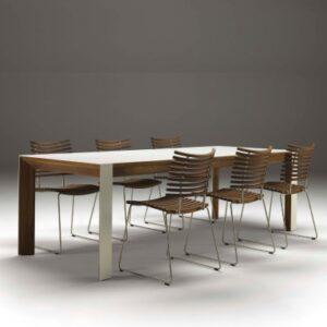 Naver Collection | GM 7700 Spisebord - Naver Collection | Træsorter - Valnød olie, Naver Collection | Størrelser - 200 x 92 cm