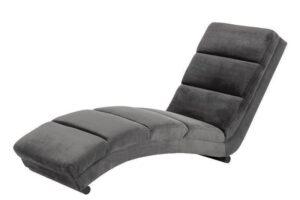 Slinky chaiselong lænestol mørkegrå